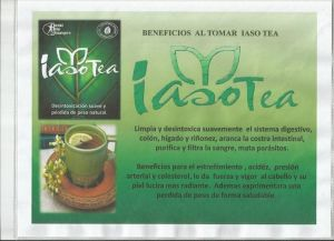 IASO TEA beneficios